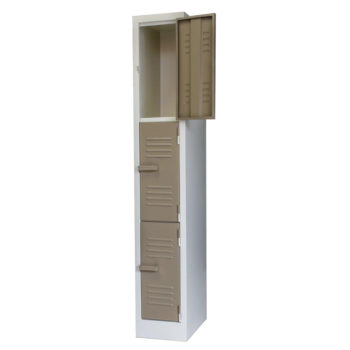 3 Compartment Locker