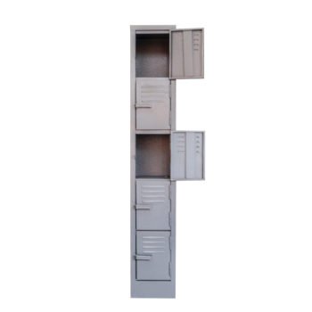 5 Compartment Locker