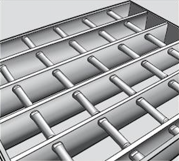Smooth Steel Grating